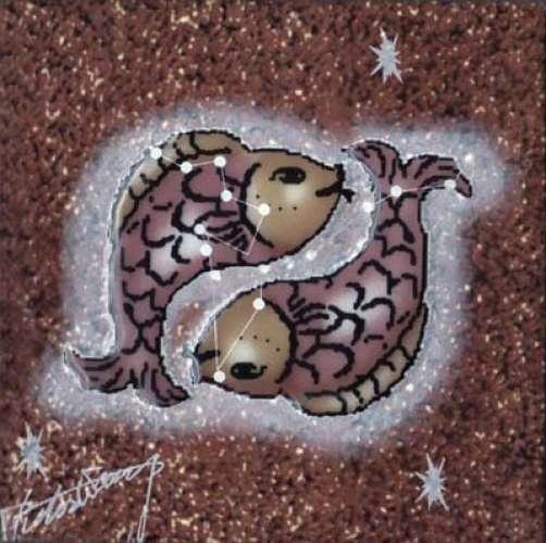瓷砖画欧洲动物复古